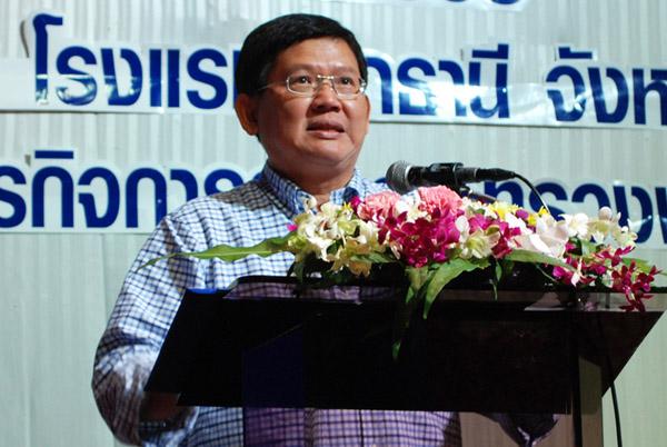 """""""รมช.พาณิชย์"""" ลุยโคราชพบเถ้าแก่ SMEs ดันเปิดตลาดต่างประเทศ-รุกเจาะอาเซียน"""