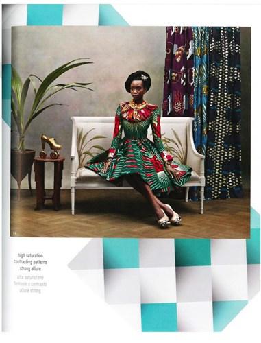 สีสันจัดจ้านในแบบแอฟริกันพื้นเมือง