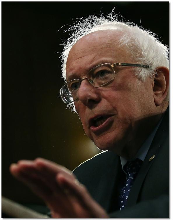 สว.แนวคิดโปรเกรสซีฟ เบอร์นี แซนเดอร์ส(Bernie Sanders)จากรัฐเวอร์มอนต์