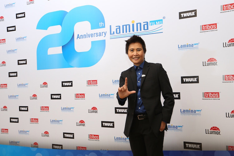 ลามิน่าเฉลิมฉลอง 20 ปี ฟิล์มกรองแสงอันดับหนึ่งของไทย