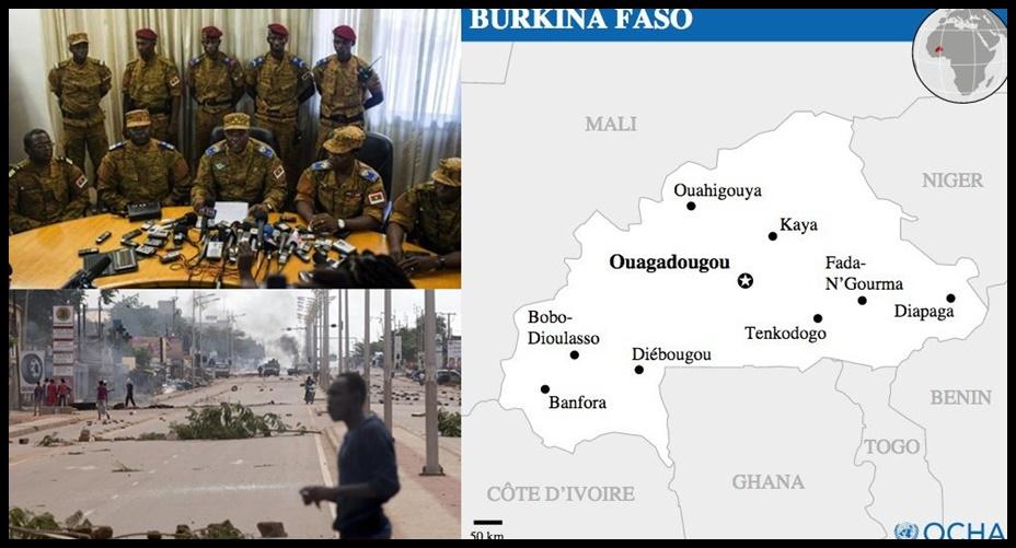 """In Pics : """"สหภาพแอฟริกา"""" ขู่คว่ำบาตร """"บูร์กินาฟาโซ"""" หลังเกิดรัฐประหาร หากไม่คืนอำนาจให้ปธน.คาฟันโดภายใน 96 ชม."""