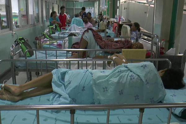 สธ.บุรีรัมย์เตือนระวังโรคฉี่หนูระบาด ช่วงฝนตกชุกพบผู้ป่วยแล้ว 14 ราย