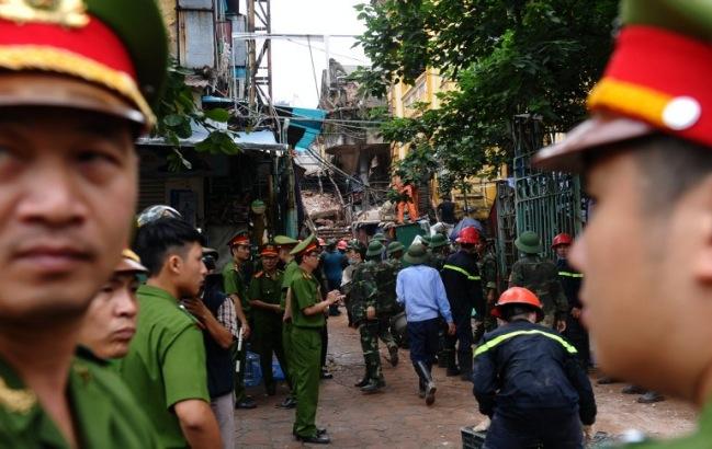 เกิดเหตุอาคารเก่าในกรุงฮานอยถล่มมีผู้เสียชีวิต 1 คน