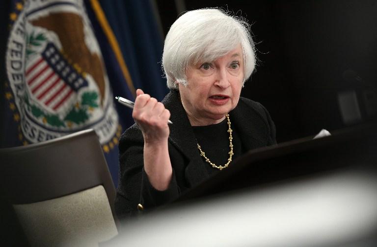 เจเน็ต เยลเลน ประธานธนาคารกลางสหรัฐฯ (เฟด)