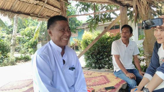 หะยีดาโอ๊ะ ท่าน้ำ เปิดบ้านให้ญาติและผู้คนเข้าเยี่ยม รวมถึงให้สัมภาษณ์สื่อหลังได้รับอิสรภาพ