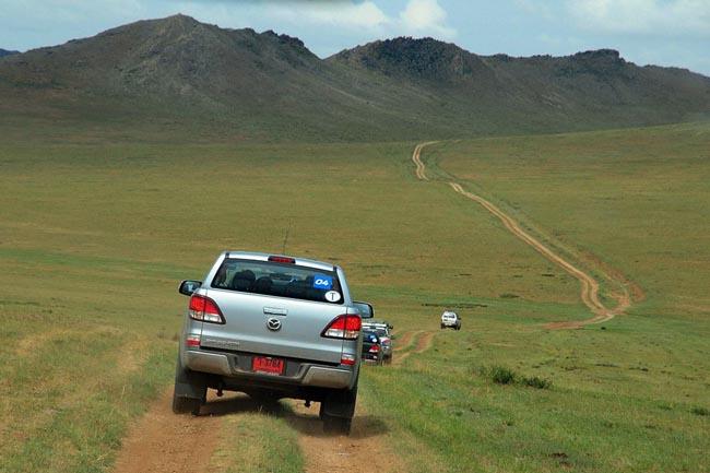 เส้นทางที่สวยงามในดินแดนมองโกเลีย