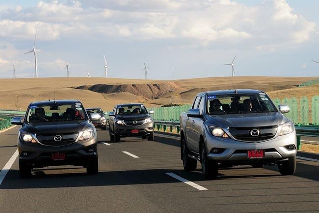 เส้นทางขับแถวชายแดนจีน