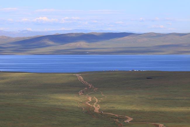 ทะเลสาปโอกิ สวยงามมาก
