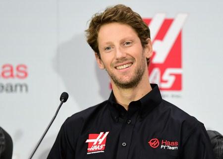 """ฮาสเปิดตัว """"โกรสชอง"""" นักซิ่งคนแรกลุย F1 ปี 2016"""