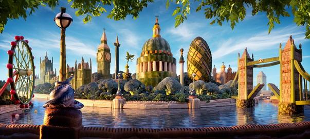 London Skyline ลอนดอนสกายไลน์