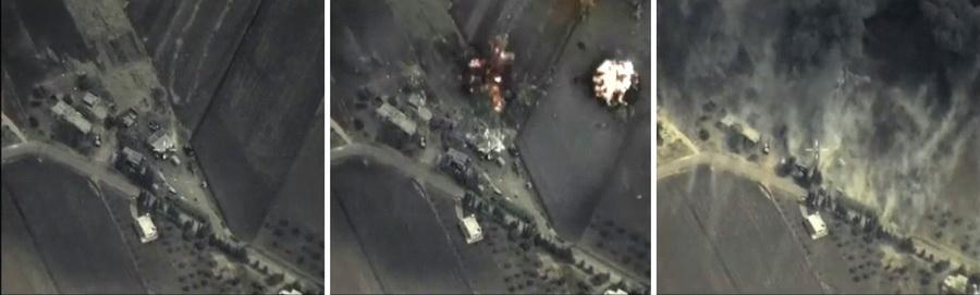 'รัสเซีย'ถล่มโจมตี'ซีเรีย'เป็นวันที่2 สหรัฐฯชี้เป้าหมายหมีขาวไม่ใช่IS