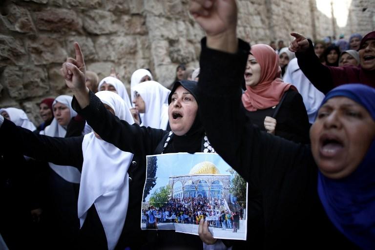 """รบ.อิสราเอลสั่งห้ามชาวปาเลสไตน์เข้า """"เมืองเก่าเยรูซาเลม"""" หลังชาวยิวถูกแทงดับ 2 ศพ"""