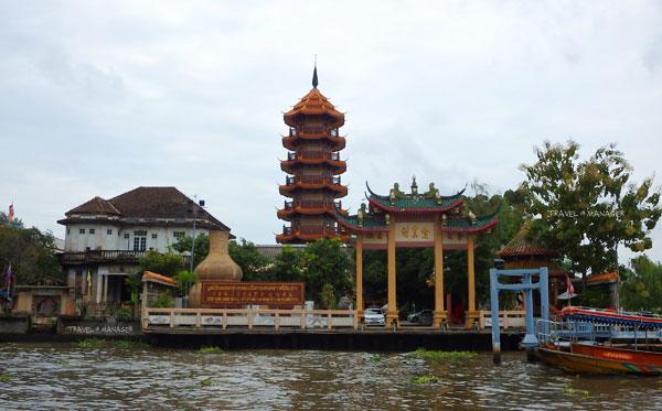 """""""ศาลเจ้าจีนเกาะ"""" อีกหนึ่งสถานที่งดงามริมแม่น้ำเจ้าพระยา"""