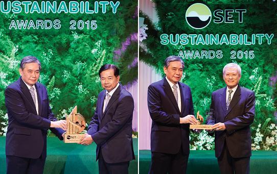 LPN รับรางวัลภาคภูมิใจในงาน SET Sustainability Award