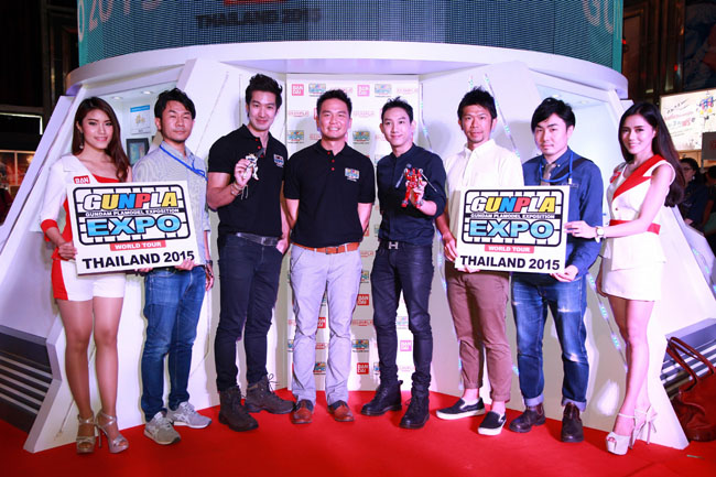 รวมพลคนรักกันดั้ม GUNPLA EXPO THAILAND 2015