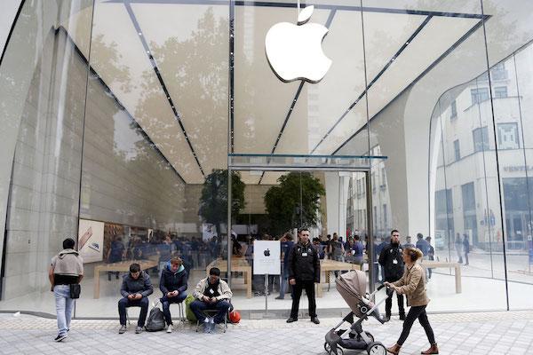 Apple Store สาขาเบลเยียม