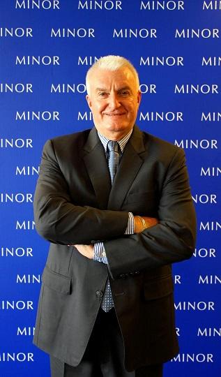 นายพอล เคนนี่ ประธานเจ้าหน้าที่บริหาร ไมเนอร์ ฟู้ด กรุ๊ป