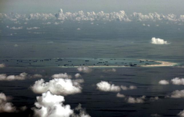 โครงการก่อสร้างเกาะเทียมของจีนบริเวณหมู่เกาะสแปรตลีย์