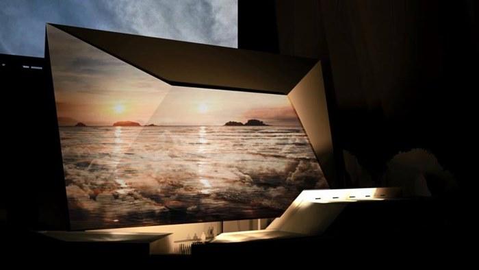 ผลงานของนักออกแบบแสง  Matteo Messervy ที่สถานทูตฝรั่งเศส