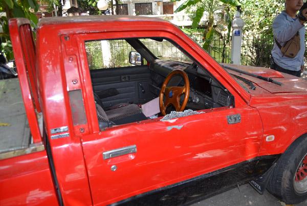 โจรไม่กลัวบาป! ทุบรถจอดในวัดกลางเมืองโคราชกวาดทรัพย์ลอยนวล