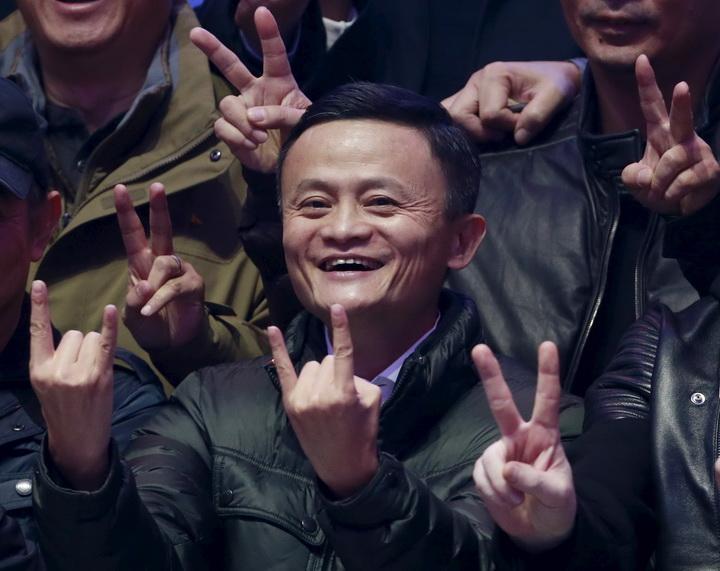 'แจ๊ก หม่า'รับทรัพย์สนั่น'วันคนโสด'14ช.ม.คนจีนช้อปออนไลน์$หมื่นล.