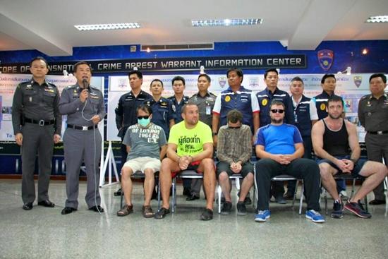 สตม. จับกุมอาชญากรข้ามชาติ 12 ราย หนีกบดานในไทย