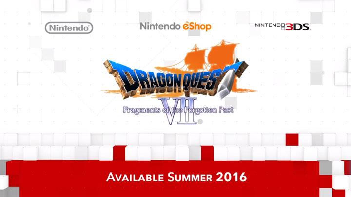 """""""ดราก้อนเควสต์"""" ภาค 7-8 ประกาศออกเวอร์ชันอังกฤษบน 3DS"""