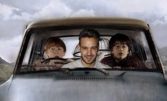 """""""เลียม เพย์น One Direction"""" ติ่งหนักมากทุ่มเงินซื้อรถเหาะได้ของแฮร์รี พอตเตอร์จอดไว้ที่บ้าน"""