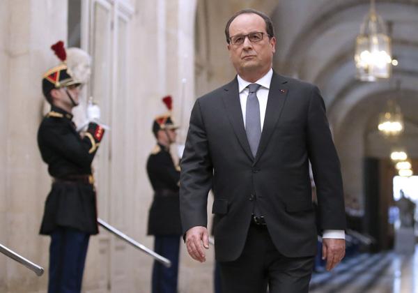 ออลลองด์ ผู้นำฝรั่งเศส