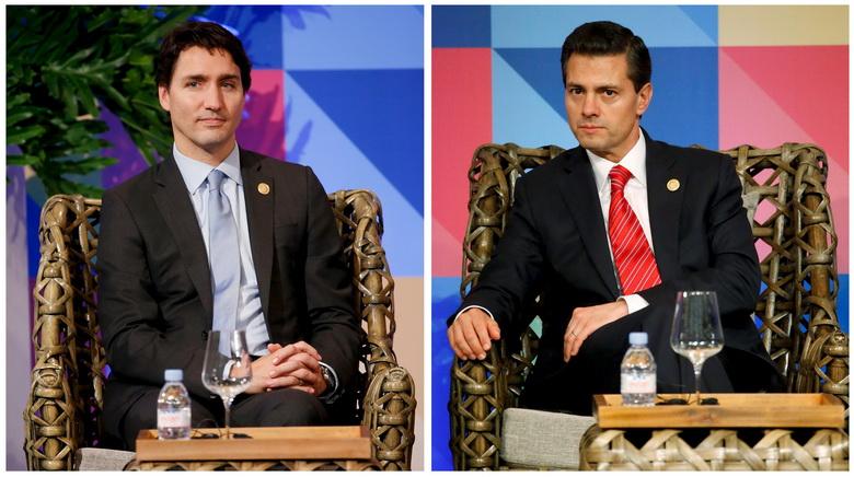 ชาวเน็ตฮือฮา ที่ประชุม APEC กลายเป็นเวทีประชันความหล่อสองผู้นำ