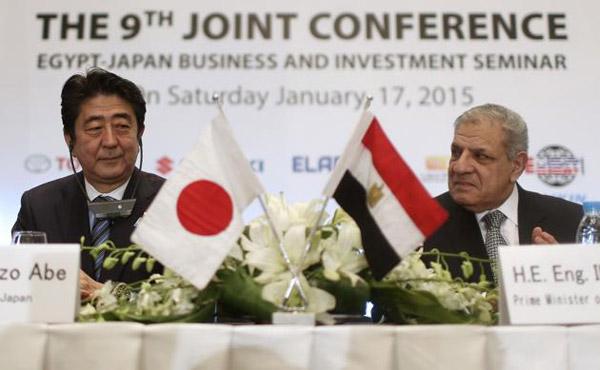 ผู้นำญี่ปุ่นให้คำมั่นที่อียิปต์ มอบเงินสนับสนุนปราบปรามกลุ่มรัฐอิสลาม
