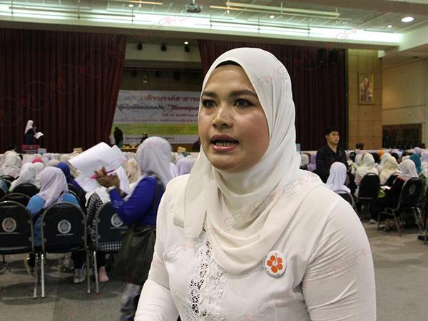 """""""เครือข่ายสตรีชายแดนใต้"""" ร้องขอตลาด ถนนเป็นพื้นที่ปลอดภัยยุติความรุนแรงต่อผู้หญิง"""
