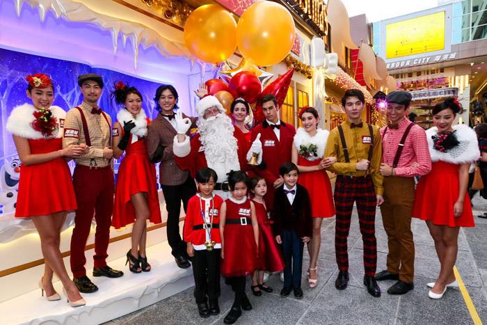 """งานอเวนิว """"ความสุขชั่วนิจนิรันดร์"""" ในเทศกาลคริสต์มาส โดยฮาร์เบอร์ซิตี้"""