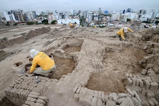Four pre-Inca tombs found in Peru's Lima