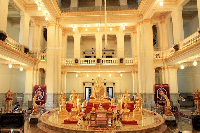 """ทำบุญรับปีใหม่ไทย ไหว้พระ 5 พี่น้อง """"เบญจภาคีวารีปาฏิหาริย์"""""""