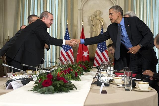 วางท่าเป็น 'คนกลาง'!!  'โอบามา' เร่ง 'รัสเซีย' กับ 'ตุรกี' ก้าวข้ามความตึงเครียด  มุ่งโฟกัสที่การปราบไอเอส