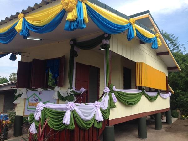 สพฐ.มอบบ้านเฉลิมพระเกียรติและเปิดโครงการเยี่ยมบ้านนักเรียน