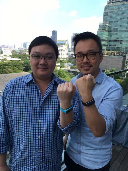 POMO 37 '  WEARABLEวัดความดันตัวแรกของไทย