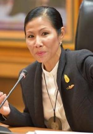 นางกอบกาญจน์ วัฒนวรางกูร รัฐมนตรีว่าการกระทรวงการท่องเที่ยวและกีฬา