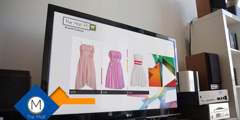"""ชีวิตดี๊ดี!! ลองชุดจากที่บ้านผ่านแอพ """"The mall"""" บน XboxOne"""