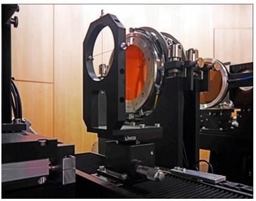 OPTIS facility ที่ PSI เพื่อทำการฉายแสงเนื้องอกในดวงตาด้วยอนุภาคโปรตอน