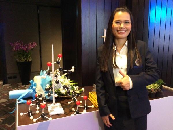 ศึกษาโครงสร้าง 3 มิติสมุนไพรไทยต่อยอดยาเคมีบำบัด