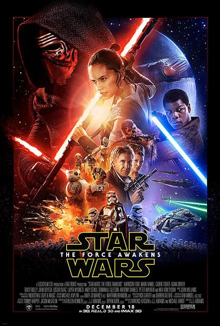 ได้เวลาวิถีแห่งพลังใน The Force Awakens พร้อมด้วย 3 หนังใหม่กลางเดือนธันวา