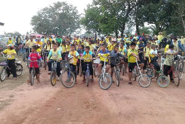 อุบลฯ จัดปั่นจักรยานเที่ยวแหล่งธรรมชาติรับปีใหม่
