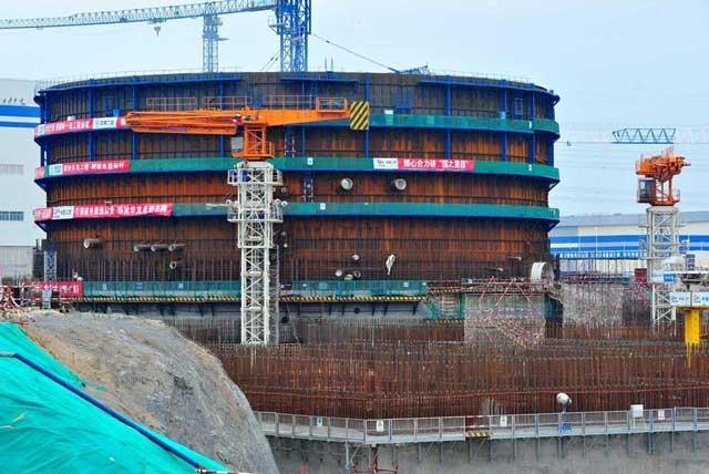 เริ่มติดตั้งแล้ว เตาปฏิกรณ์ หัวหลง-1 โรงไฟฟ้านิวเคลียร์เทคโนโลยีจีน