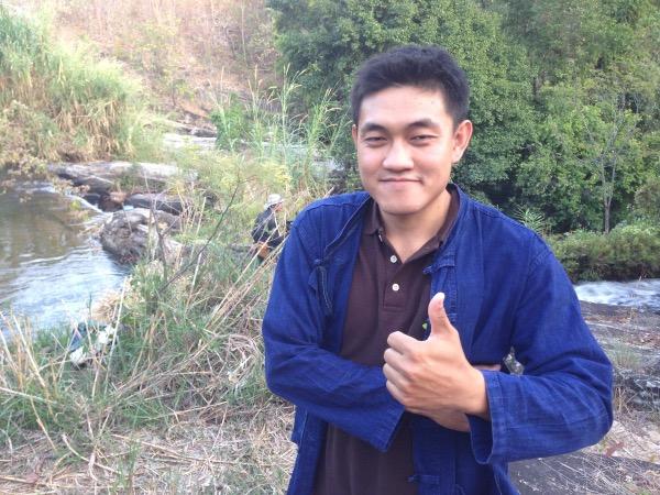 นายนิติ เที่ยงจันตา ประธานเยาวชนชุมชนแม่หาด เจ้าของแปลงเกษตรแบบผสมผสาน