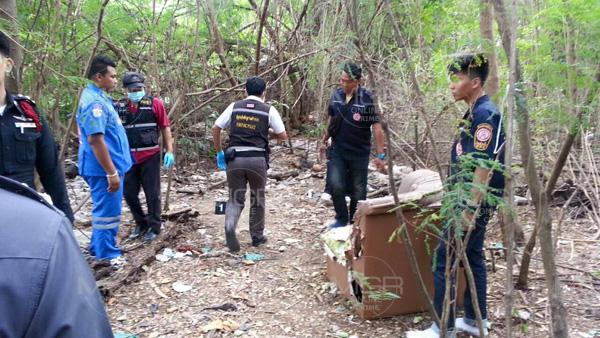 พบโครงกระดูกกลางป่ากระถินนนทุบรี คาดเป็นหญิงวัย 75 ที่หายตัวไปจากบ้าน