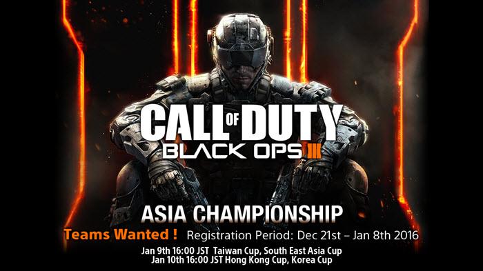 เตรียมตัวให้พร้อม! Call of Duty Asia Championship เปิดรับสมัครแล้ว