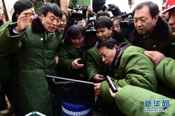 กู้ภัยพบคนงานจีนสุดแกร่ง มีชีวิตรอดแม้ติดใต้ซากเหมืองถล่มนานกว่า 5 วัน