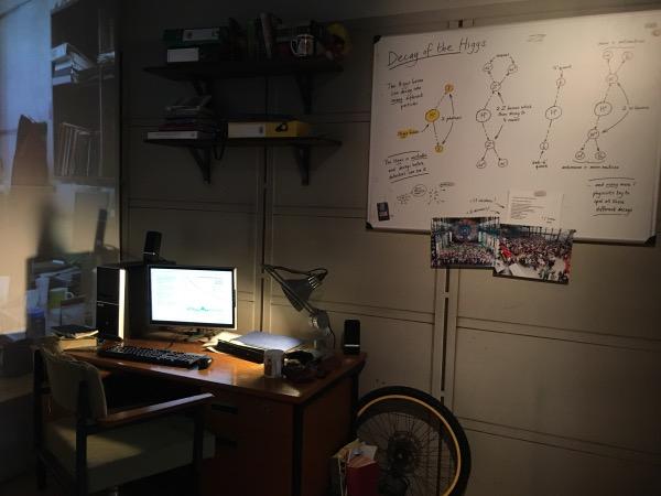 ห้องทำงานจำลองของเหล่านักวิทยาศาสตร์เซิร์น